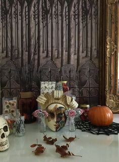 If you are reading this, then you are blissfully unaware of what is creeping up behind you! It's as much fun to scare, as to be scared eh? Halloween is almost here my pretties and… Hocus Pocus, Stew, Halloween, Fun, Painting, One Pot, Painting Art, Paintings, Halloween Stuff