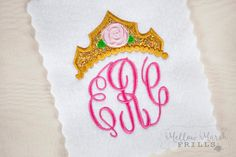 Mellow Marsh Frills embroidery and applique Custom Embroidery, Bridal Accessories, No Frills, Applique, Fantasy, Inspired, Character, Etsy, Inspiration