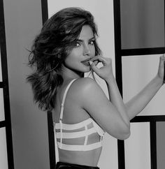 Priyanka Chopra for complex magazine cage bra bandage bra harness bra Priyanka Chopra Hot, Gal Gadot, Beautiful Lingerie, Woman Crush, Indian Beauty, Bollywood Actress, Indian Actresses, Gorgeous Women, Celebrity Style