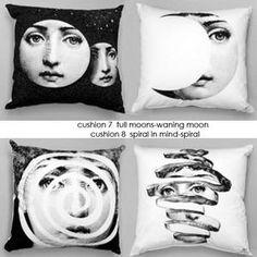 Fornasetti pillows