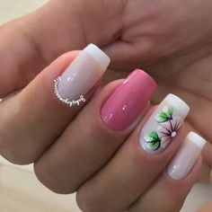 Sunflower Nails, Luxury Nails, French Nails, Manicure And Pedicure, You Nailed It, Finger, Nail Designs, Hair Beauty, Nail Art