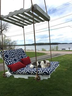 If you're fortunate enough to live somewhere close to a body of water, you know there isn't anything quite like kicking back and enjoying the beautiful scenery. With warm weather approaching, many people are scouring the internet for inspiration when it comes to their outdoor seating arrangements. Imgur userIAmGregAndersonwas interested in creatinga fun addition to...