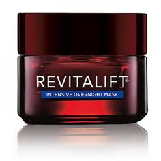 No time for a mask? Put this L'Oréal Paris RevitaLift Triple Power Intensive Overnight Mask on before bed and wake up to more youthful skin.