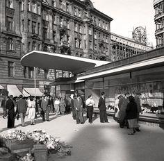 Sezam przy  ul. Brackiej  Warszawa, 1951