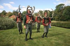 Horn Dance Abbot's Bromley Staffordshire UK