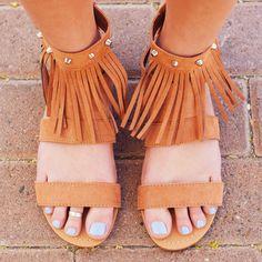 Jaya Fringe Sandals #Fashion #style #cute #fringe #sandals #trendy #boho #bohemian #Spring #ShopPriceless