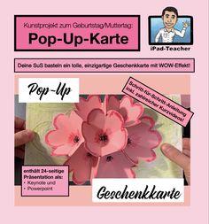 Keynote, Pop Up, Ipad, Videos, Teacher, Cover, Books, Colored Paper, Kunst