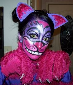 my Cheshire Cat makeup for Halloween 2010.