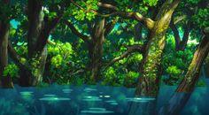 Ponyo on the Cliff by the Sea - Art Director Noboru Yoshida (2008)