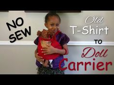 DIY Baby Alive Doll Carrier + GIVEAWAY | No Sew | How To | Blueprint DIY - YouTube