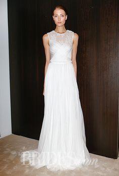 Brides: J.Mendel Wedding Dresses   Spring 2016   Bridal Runway Shows   Brides.com | Wedding Dresses Style