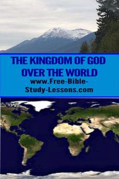 The nations of the world will flow into the Kingdom of God. Jesus Christ is King over all. King Jesus, God Jesus, Jesus Christ, Bible Study Lessons, Free Bible Study, Kingdom Of Heaven, The Kingdom Of God, Bible Commentary, Be Exalted