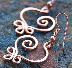 Hey, I found this really awesome Etsy listing at http://www.etsy.com/listing/59708470/copper-small-celtic-heart-earrings