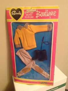 Vintage Sindy Riding Outfit 10.61+1.4
