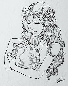 Dark Art Drawings, Pencil Art Drawings, Art Drawings Sketches, Tattoo Drawings, Arte Sketchbook, Sketchbook Ideas, Cute Tattoos, Art Inspo, Art Reference
