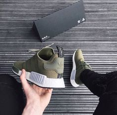 adidas NMD's 'Olive' More