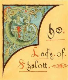 The Lady of Shalott Poem | the-lady-of-shalott-howard-pyle