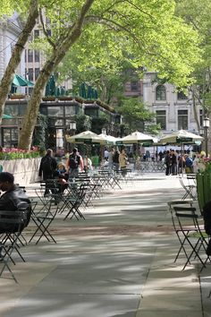 Bryant Park. I worked across the street for many years. Biddy Craft