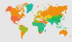Ο χάρτης της παχυσαρκίας στον πλανήτη |thetoc.gr