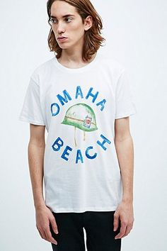 Atelier Amelot Th Gallery Omaha Tee in White - Urban Outfitters