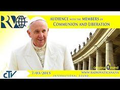 Encuentro del Papa Francisco con Comunión y Liberación - Aleteia