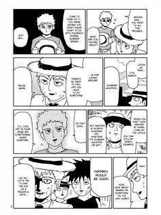 awwwww look at em all with their hats and ritsu being a little shit triggering Reigen mentioning the yakiniku bbq meat thing