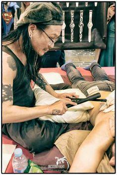 Tatouage traditionnel polynésien