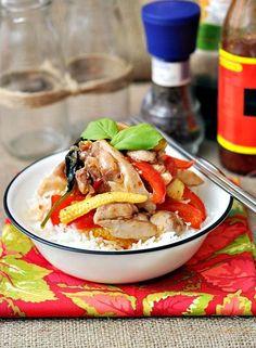 Chicken Recipes : Sweet Chilli & Basil Chicken Stir Fry