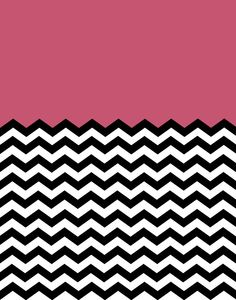 Freebie 5: Colorblock Chevron Backgrounds!