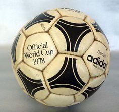 Adidas Match soccer ball TOYOTA Cup finals Nacional Vs. Nottingham Forest 1981
