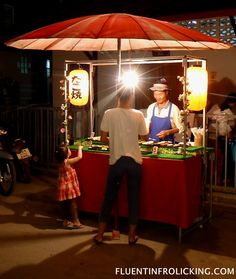 Pai, Thailand  Sushi Stand at the Night Market