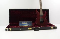 1999 Ibanez Rg 7620 7 String Electric Guitar - Vampire Kiss W/ Case  Rg7620 - http://www.7stringguitar.org/for-sale/1999-ibanez-rg-7620-7-string-electric-guitar-vampire-kiss-w-case-rg7620/30547/