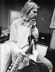Kurt Cobain, you were one of the greatest musicians to ever live. Miss you:(