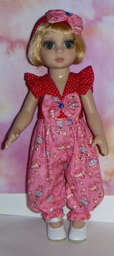 Lil Sassy Little Bo Peep Jumper With Headband And Bow For 10 Inch Tonner Patsy By TnTCreations