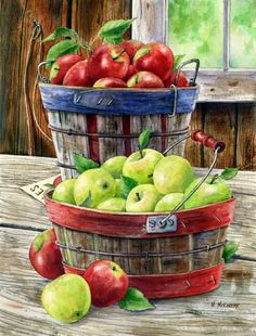 Macs and Greenings by Maureen McCarthy ~ autumn ~ harvest