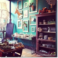 Anthropologie Room Interior Design | Have you ever been to an Anthropologie store? What are your favorite ...