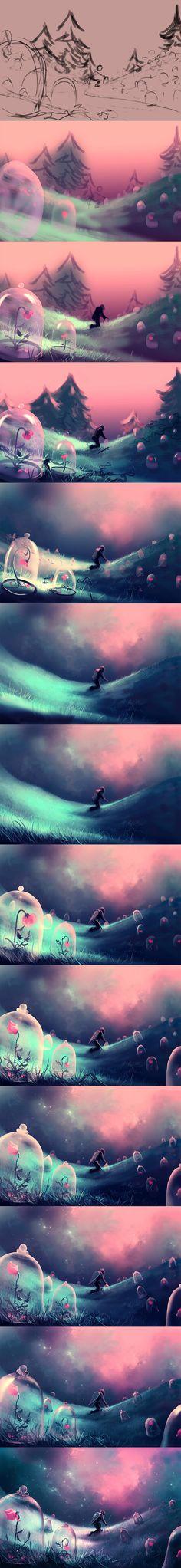 WiP Of You belong to me by AquaSixio.deviantart.com on @deviantART
