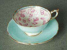 Paragon Fortune Telling Tea Cup and Saucer $229.00