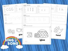 Grab your free worksheets ready for download now.