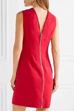 Versace - Stretch-cady Mini Dress - Claret - IT