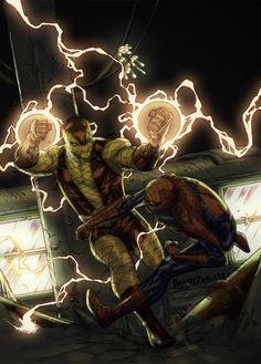 Spider-Man vs The Shocker