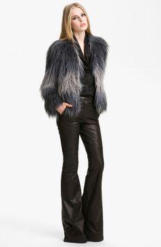 Main Image - Rachel Zoe 'Brooklyn' Faux Fur Jacket