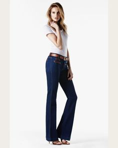 #ebay NWT 7 For All Mankind Welt Pocket Flare Jeans, French Blue Wash, Size 30, $225 #7ForAllMankind #Flare #forsale #sale #ebaysale #79.99