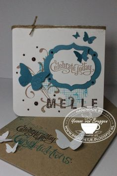 Yvonne's Stampin' and Scrap Blog: Stampin' Up! card with envelope