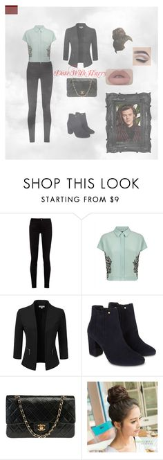 """""""date w harry"""" by lizzystyles1994 on Polyvore featuring Gucci, Jaeger, Doublju, Monsoon and Chanel"""