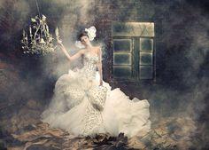 Haute couture baroque amato luxe lekpa mariage coiffure