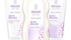 Weleda Baby Derma White Mallow Range