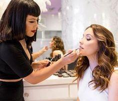 Makeup being done by our educator and drylist Patte! Insta: @beautybypatte Photo: @andreadomjan #beblownaway #goodhair #kevinmurphy #livingproof #amdreadomjan #oc #ocwomen #ochair #ocstylist #ocsalon
