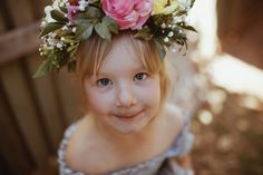 Myla VonBlanckensee photo by Tessa Cheetham #flowers #flowercrowns #colours #photography #photoshoot #photos #portrait #afternoon #outdoors #nature