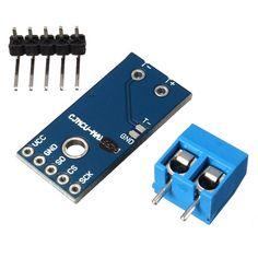 Módulo de detección de medición de temperatura sensor de termopar max31855k